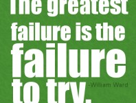 failure-to-try-quotes